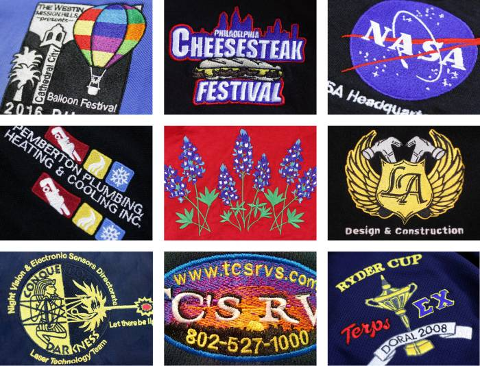 Custom Embroidery Services For Apparel | RushOrderTees™