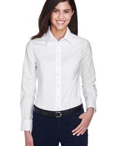 ba1d64b0 Custom Harriton Women's Oxford Shirts | RushOrderTees®