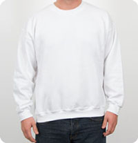 G180 Gildan - Heavy Blend 8 oz., 50/50 Fleece Crew Crewneck Sweatshirt