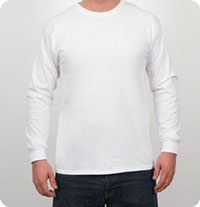 G240 Gildan - Ultra Cotton 6 oz. Long-Sleeve T-Shirt Long Sleeve T-Shirt