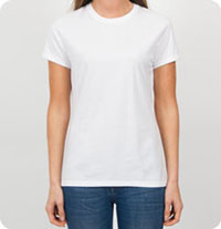 SL04 Hanes - Ladies' 4.5 oz., 100% Ringspun Cotton nano-T T-Shirt Womens Fitted T-Shirt