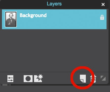 New Layer Button