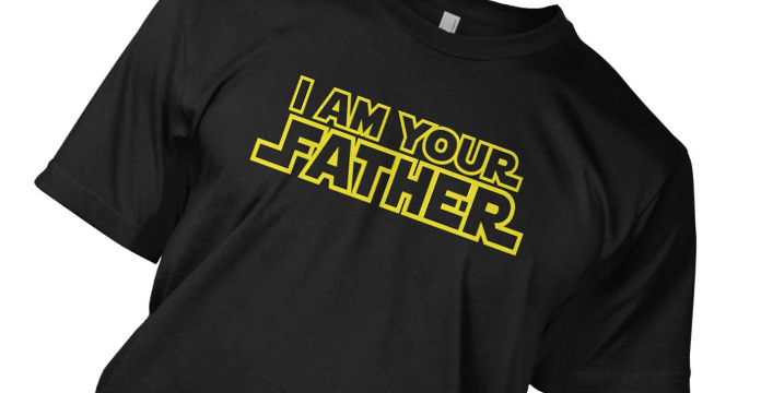 Star Wars Father T-shirt