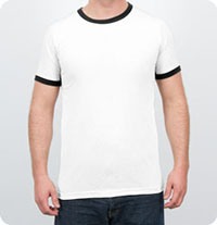 923 Anvil - 5.4 oz. Ringer T-Shirt Ringer T-Shirt